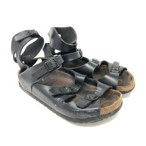 Black Birkenstock Sandals Strappy Gladiator EU 37